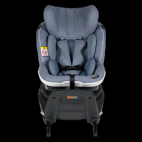 Durch die beiden Sitzkissen ist der Twist i-Size immer perfekt an Ihr Kind anzupassen