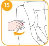 Seitenaufprallschutz am Spin Safe ausklappen