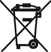 Batterien-Symbol-Entsorgung