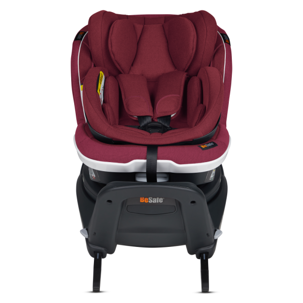 Reboard-Kindersitz Twist B i-Size in weinrot