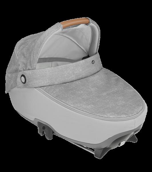Kinderwagenaufsatz und Babywanne Jade in Nomad Grey