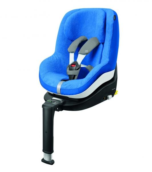 Blauer Überzug für Pearl-Kindersitze