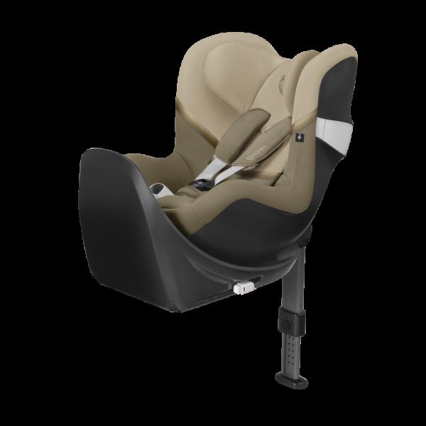 Reboard-Kindersitz Sirona M2 i-Size von Cybex in Classic Beige