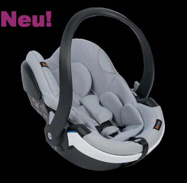Die Babyschale Go Modular X1 jetzt neu mit dem besonders luftigen Bezug Peak Mesh