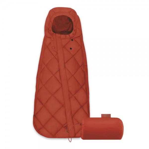 Der Cybex Snøgga besitzt eine praktische Tasche und kann kompakt zusammengerollt werden