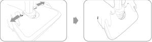 So können Sie den Winkel der Fußplatte verändern
