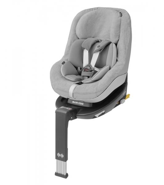 Grauer Sommerbezug für Kindersitze der Maxi-Cosi Pearl-Familie