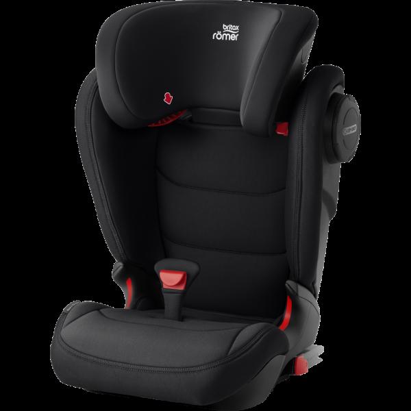 Ein Kindersitz der sehr sicher UND bequem fürs Kind ist - KIDFIX III M