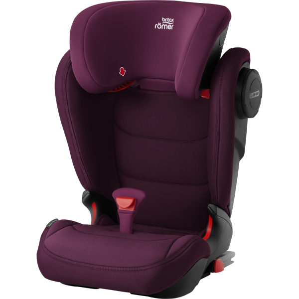 Tolle Farbe, sicherer Sitz - der KIDFIX III M in Burgundy Red