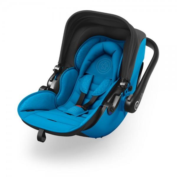 Kiddy Evolution Pro 2 in Summer Blue: Babyschale mit Liegefunktion