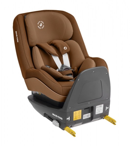 Reboard-Kindersitz Pearl Pro 2 i-Size in Braun