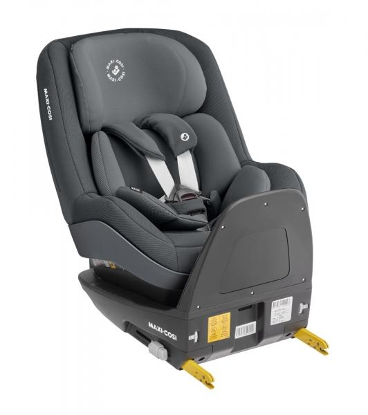 Grauer Reboard-Kindersitz Pearl Pro 2 i-Size