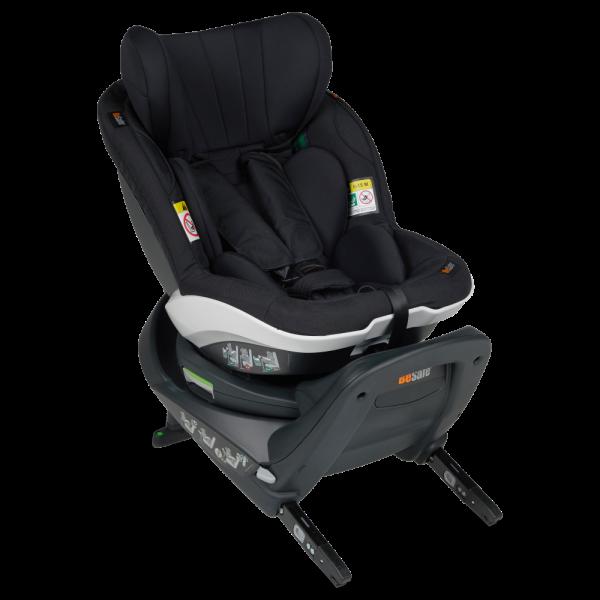 Reboard-Kindersitz BeSafe iZi Turn i-Size in schwarz