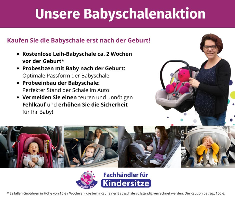 Unsere-Babyschalenaktion Babyschale vor der Geburt leihen