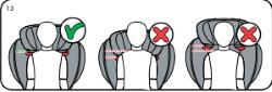 Position Kopfstütze BeSafe Flex S FIX