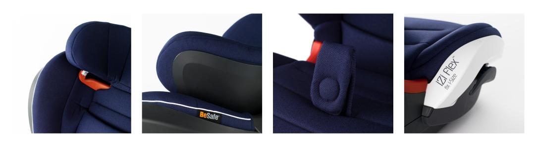 BeSafe Detailbilder iZi Flex Fix Kindersitz