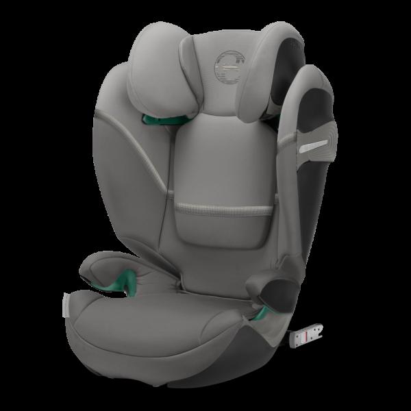 Sehr sicherer und bequemer Kindersitz in grau - Cybex Solution S i-Fix