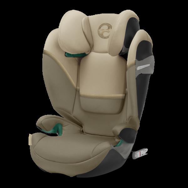 Beiger Kindersitz von Cybex für Kinder von 100 bis 150 cm - der Solution S i-Fix