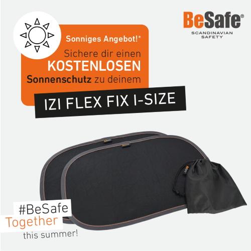 Sommer-Angebot: BeSafe Flex Fix und kostenlose Sonnenblenden