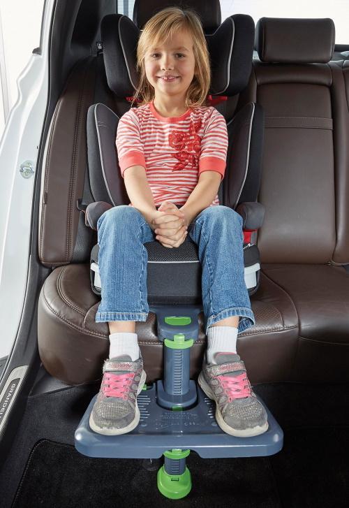 Fußablage Kindersitz im Auto