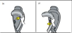 Wie Sie das SIP am Flex S FIX abnehmen