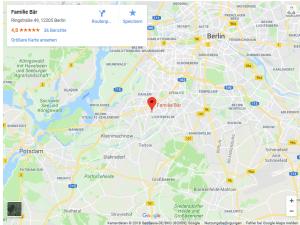 Kindersitzgeschäft in Berlin