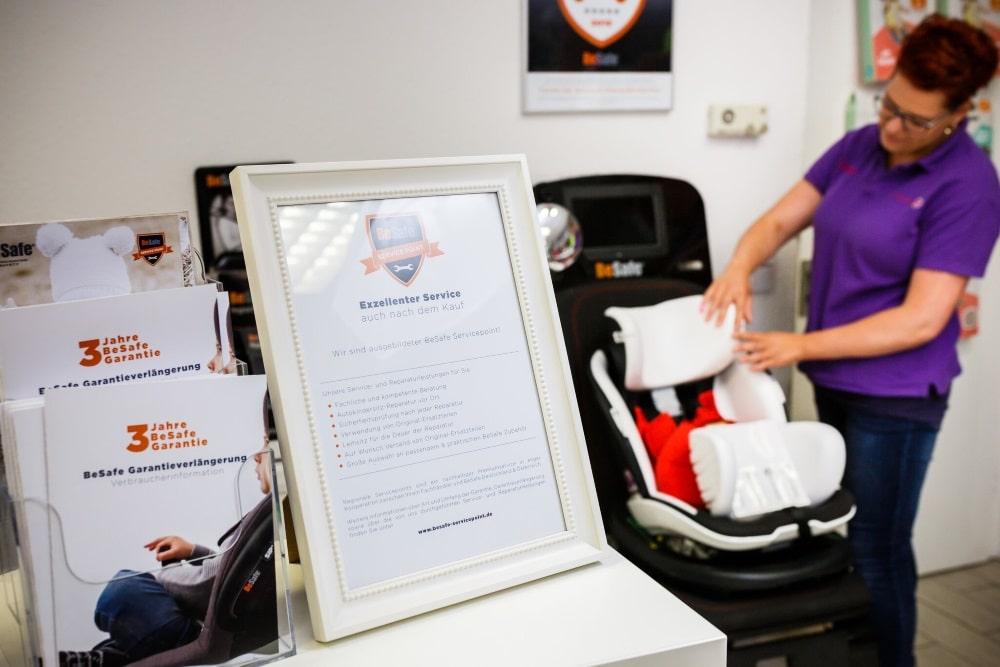 Reparatur und Wartung BeSafe Kindersitze