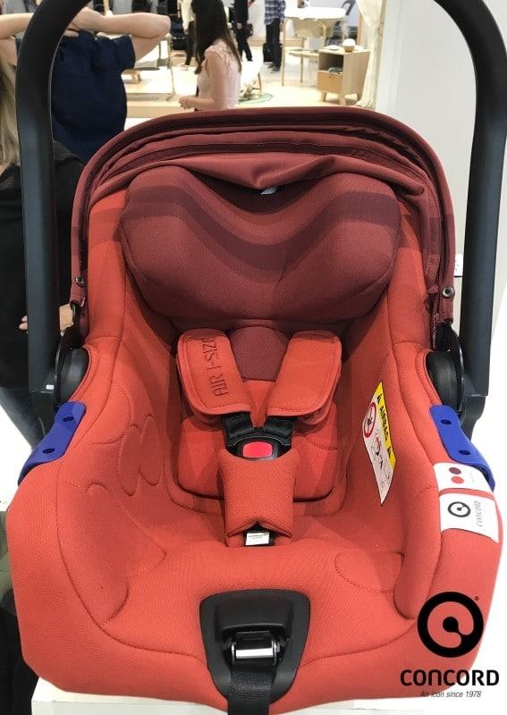 neue Babyschale von Concord Air i-Sizie