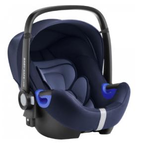 gut getestete Babyschale von Britax Römer dunkelblau