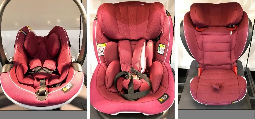 Babyschale Reboarder Kindersitz BeSafe Rot
