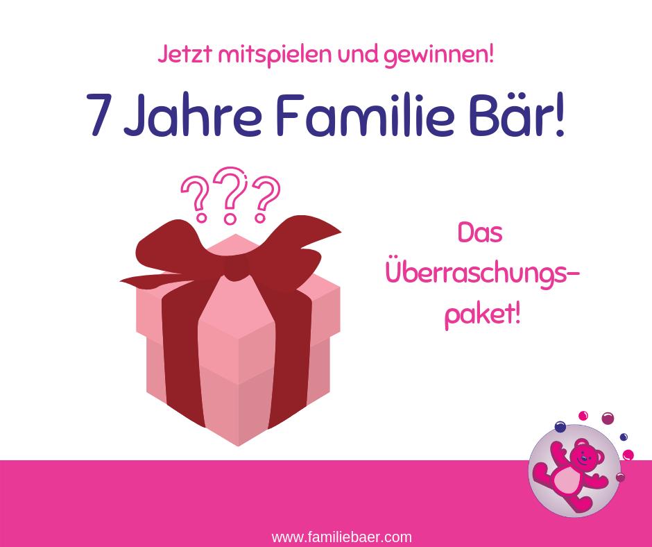 Geburtstagsgewinn Familie Bär