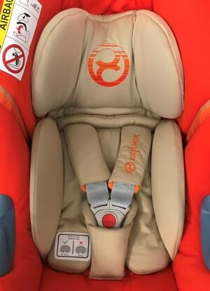 Inlet Nestchen Polster Bezug Babyschale