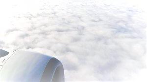 Über den Wolken Hintergrund