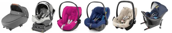 getestete Babyschalen ADAC Kindersitztest 2019