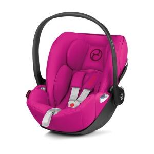 seitlich drehbare Babyschale von Cybex Cloud Z pink