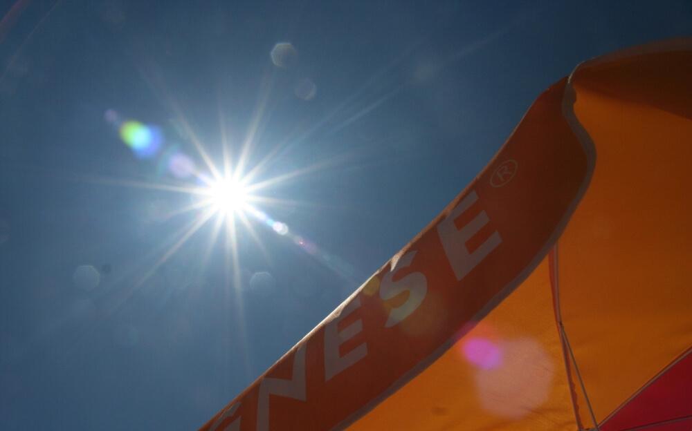 Sonnenschein Sommer Hitze