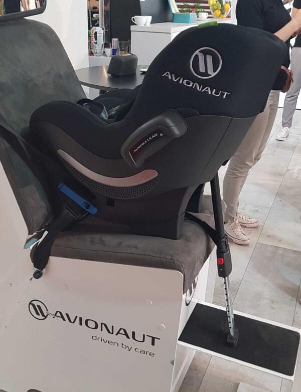 Avionaut Sky Reboarder nach neuer Kindersitznorm