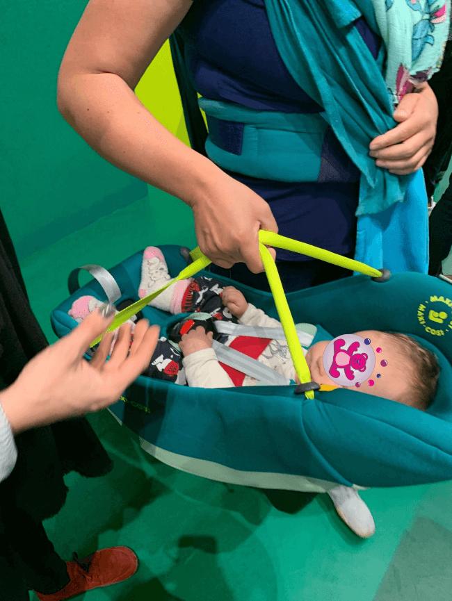 Baby Innenträger Maxi Cosi Coral