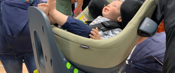 Swandoo: Babyschale Albert und Kindersitz Marie