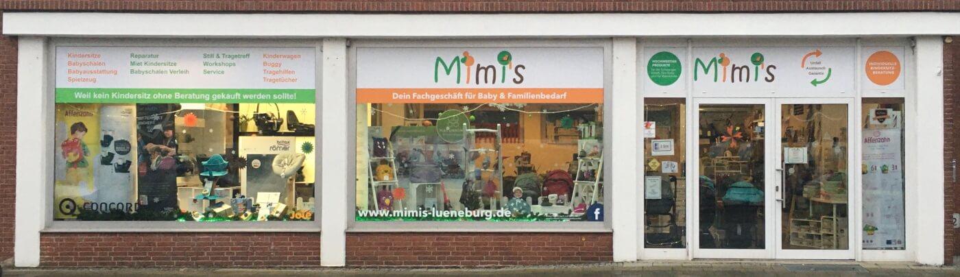Schaufensterfront Mimi's Lüneburg