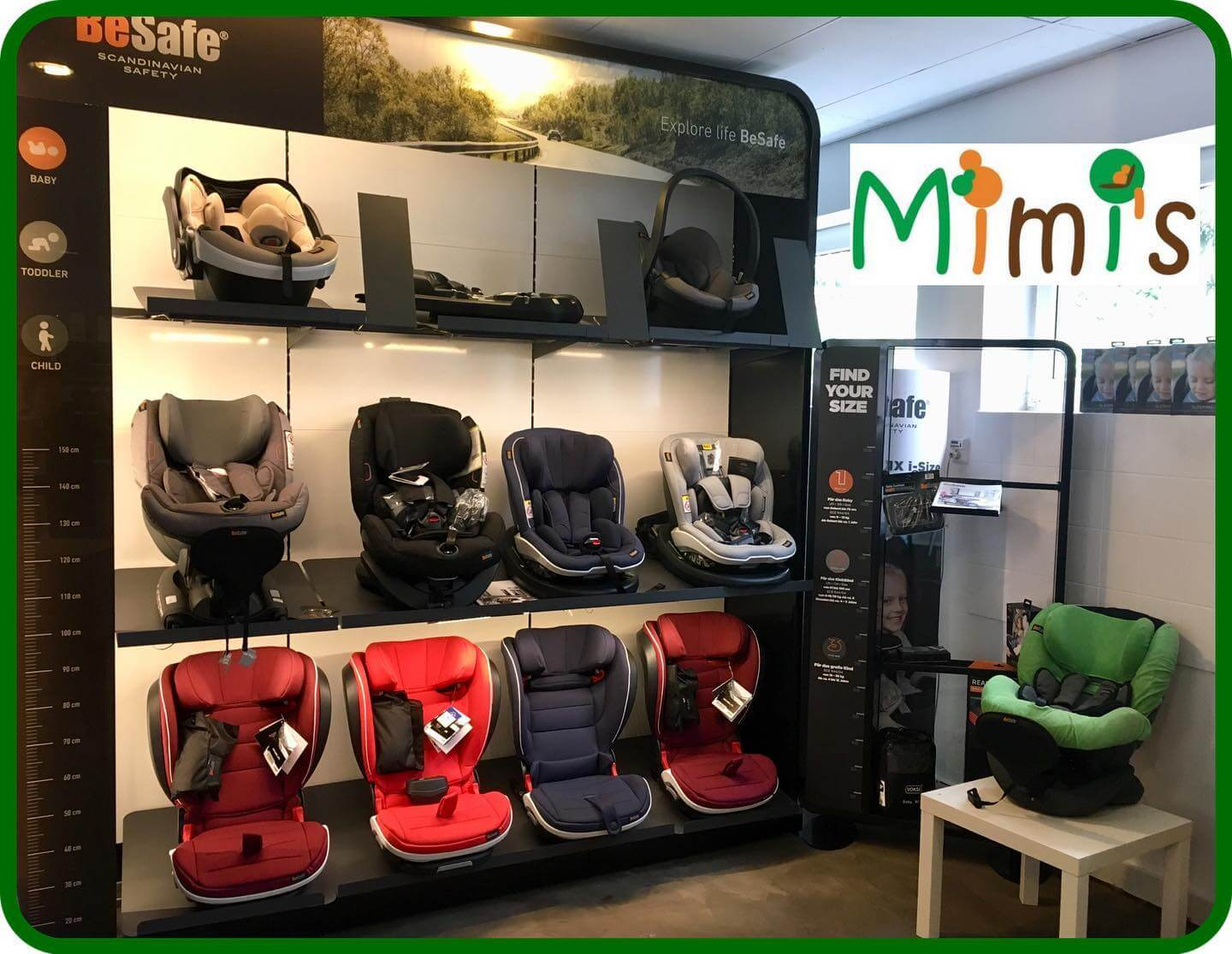 Mimis Kindersitzsortiment Lüneburg