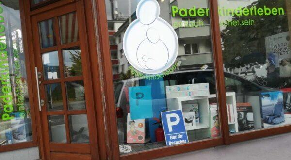 Eingang Paderkinderleben Geschäft Paderborn
