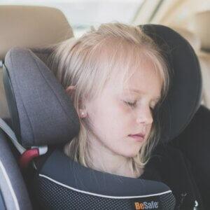 Kissen von BeSafe für den Kindersitz