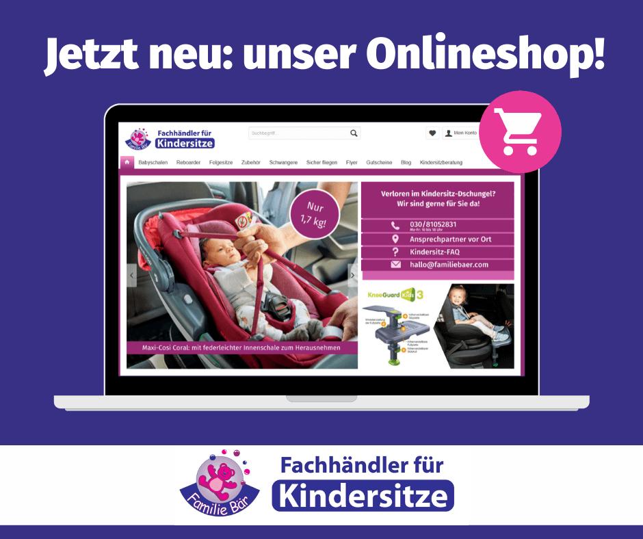 Kindersitze online kaufen bei Familie Bär