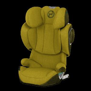 Folgesitz für Kinder ab 100 cm von Cybex, Gelb-Grün