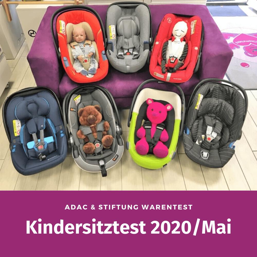 Kindersitztest 2020 Mai ADAC Stiftung Warentest