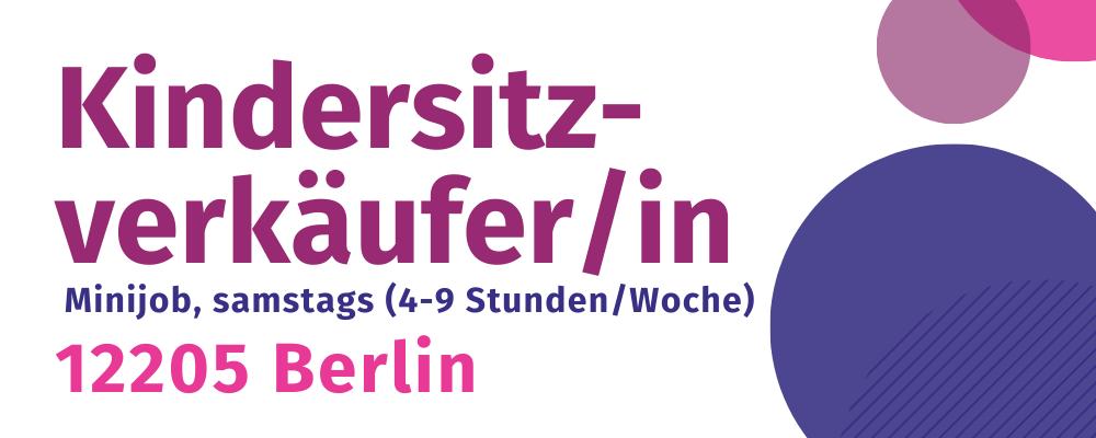 Stellenangebot Verkäufer/in Berlin Lichterfelde