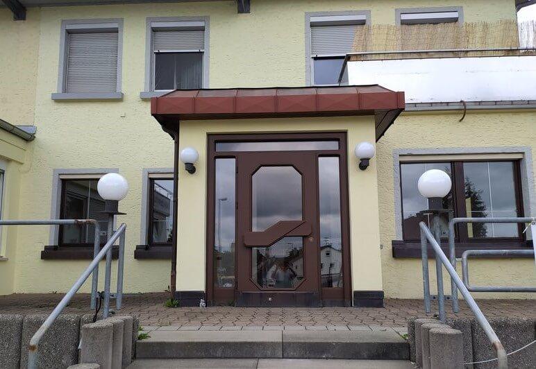 Eingang Kindersitzgeschäft Sigmaringen