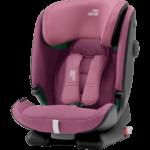 Kindersitz von Britax Römer, rosa, mit 5-Punkt-Gurt