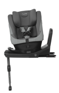 Kindersitz Nuna Prym auf Basisstation grau